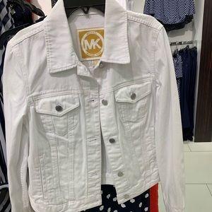 New Michael Kors White Denim Jacket!